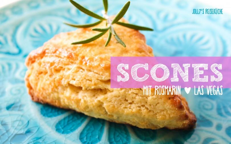 Perfekte Rosmarin-Scones. Entdeckt in Las Vegas! Reiserezepte auf www.jollyandluke.de