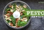 Veganes Pesto verde - a'la Italia. Holt euch Italien mal anders auf den Tisch! Hier eine vegane Alternative mit Hanfsamen. Mehr Reiserezepte auf www.jollyandluke.de