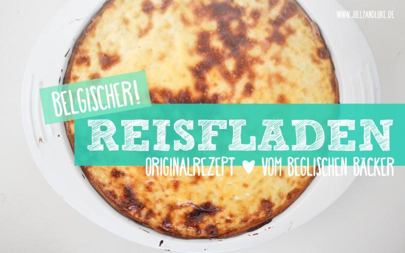 Rezept Belgischer Reisfladen