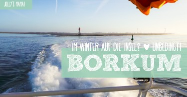 Borkum im Winter - Urlaub auf der Insel