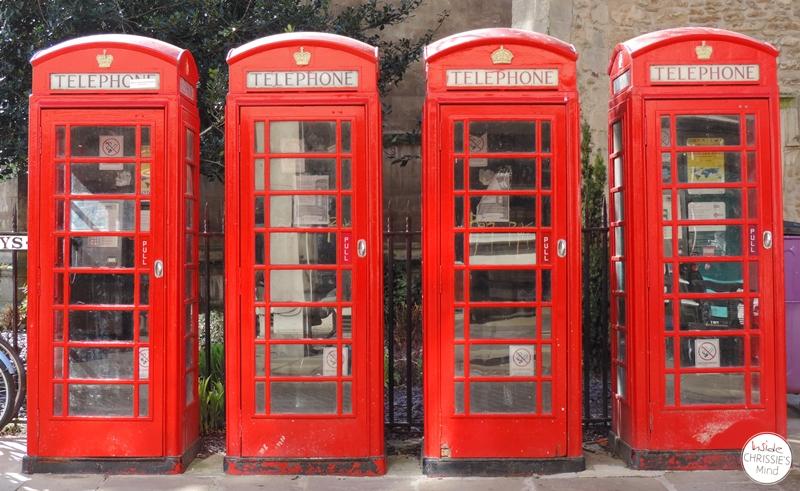 Spontanreisen Phone Boxes, England