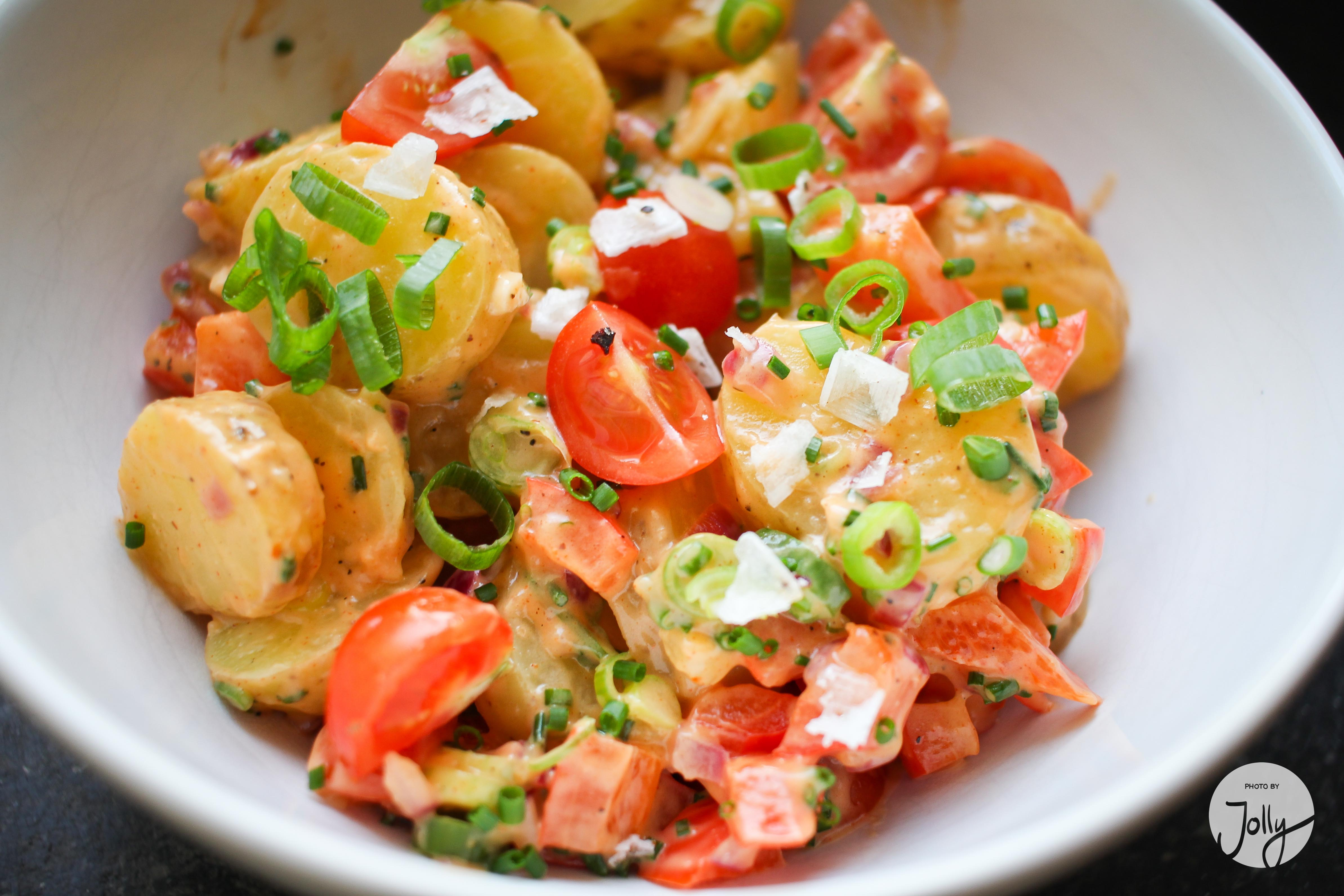 Rezept Kartoffelsalat leicht frisch