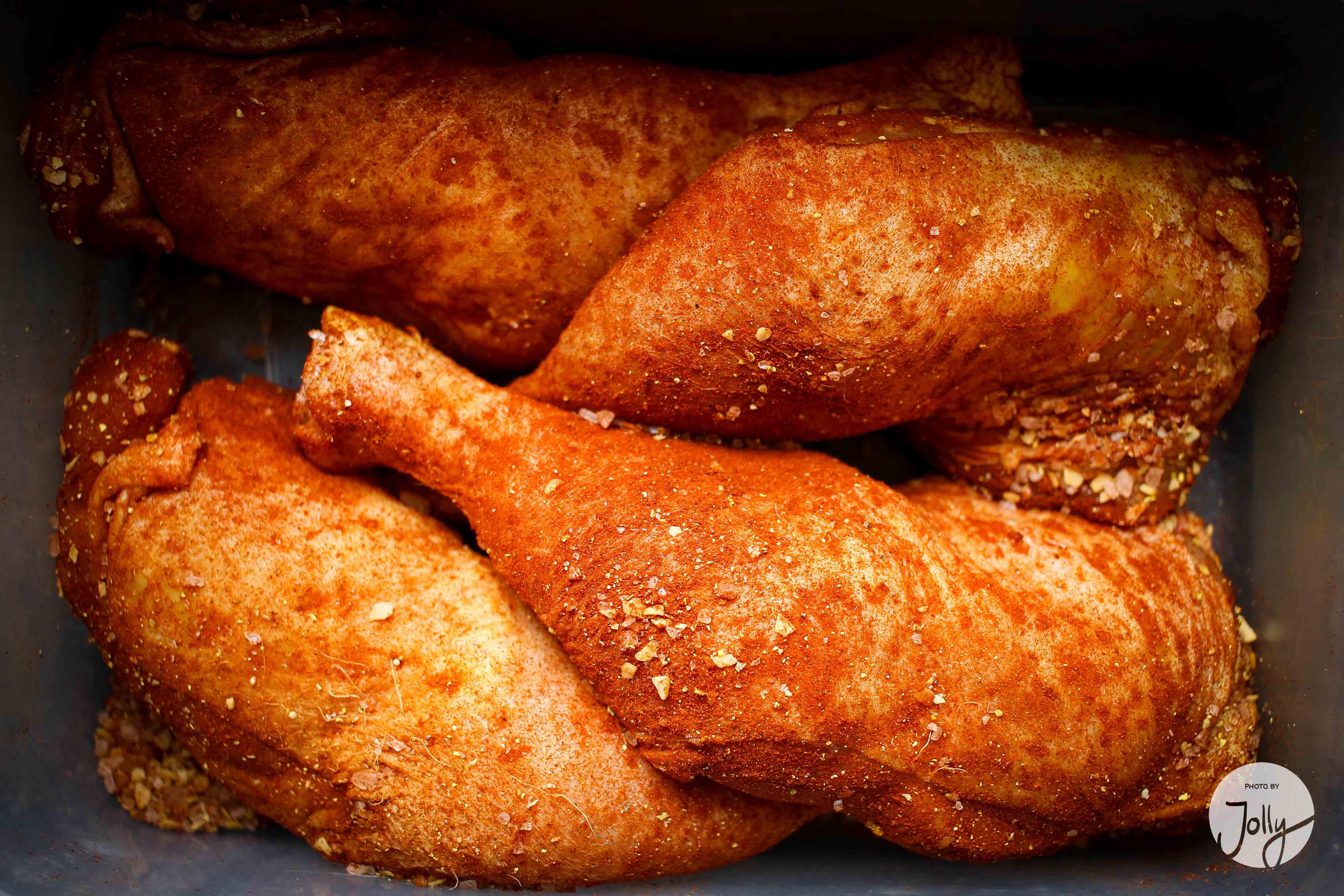 Leckere Hähnchenschenkel mit Barbecue-Soße Rezept