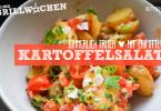 Rezept leichter Kartoffelsalat