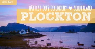 Schottland Plockton