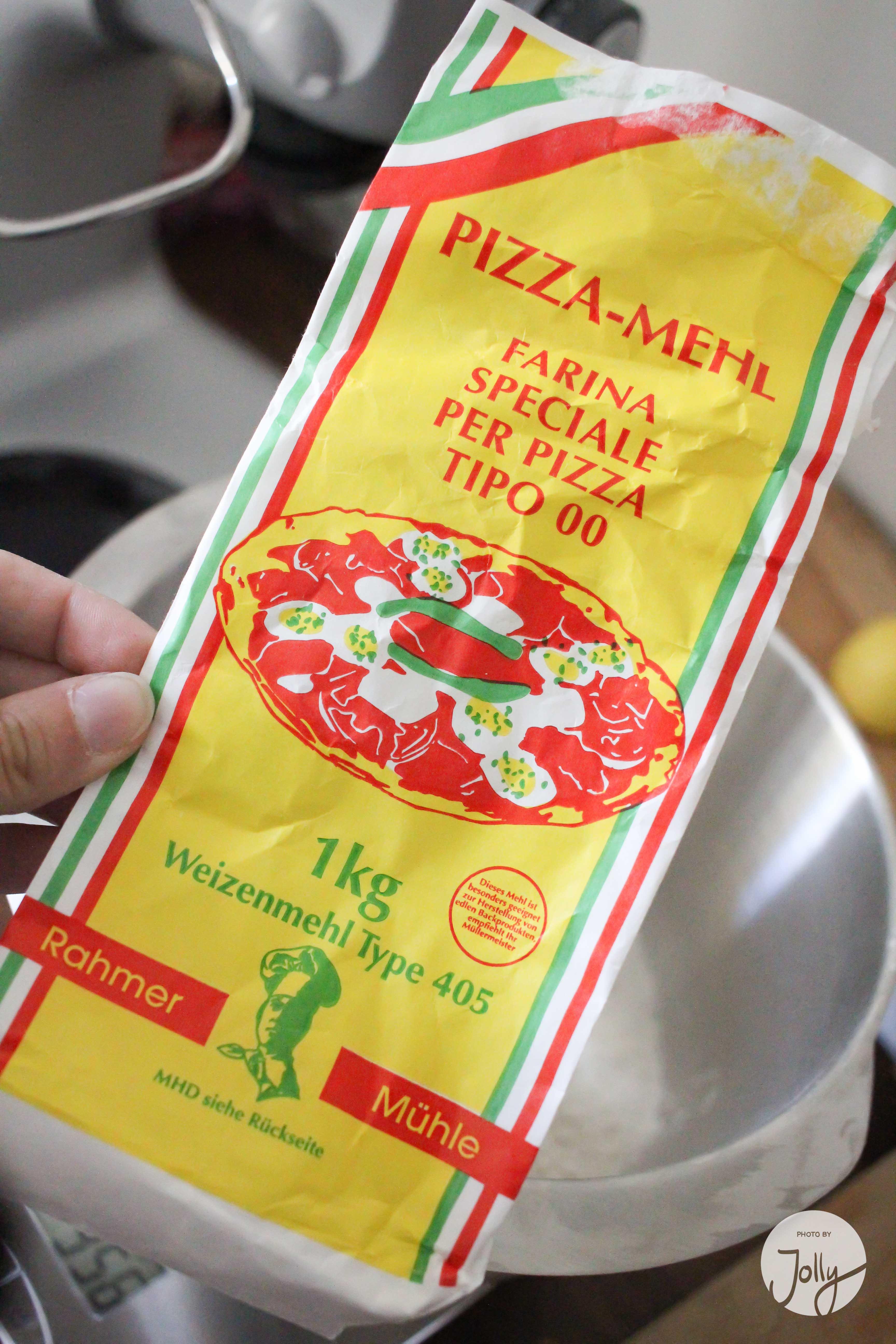 Rezept Pizzateig wie beim Italiener