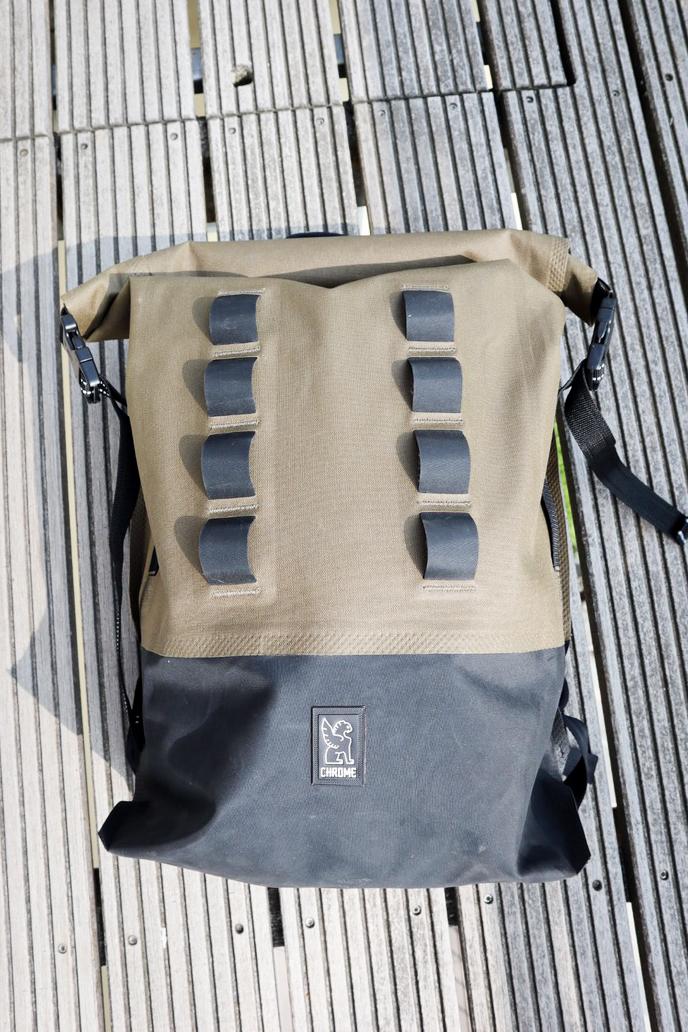 Chrome Urban Rucksack Test Erfahrungsbericht