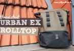 Chrome Urban Ex Rolltop Rucksack Test Erfahrungsbericht
